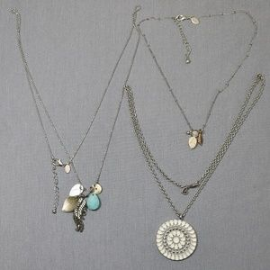 costume jewelry lot necklace areo